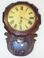 Carved Wall Clock Lot 3030