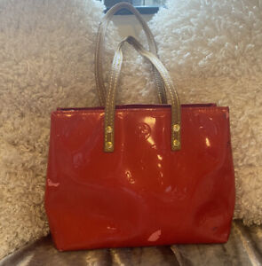 Louis Vuitton Reade PM Vernis Red Project Bag TH0045