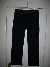 ELEVEN BY VENUS WILLIAMS JEANS SIZE 12 DARK BLUE COLOR