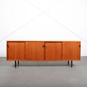 Knoll International Sideboard Kommode Florence Knoll Teak Original 50s Design