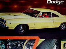 1968 DODGE CORONET SUPER BEE ORIGINAL AD * 383/440/426/Hemi/v8/engine/door/hood