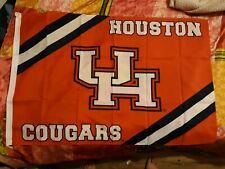 "HOUSTON COUGARS FLAG 43""x28"" BRAND NEW"