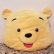 Disney Store Winnie The Pooh Face Plush Pillow  Soft Plush