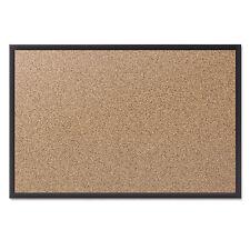 Quartet Classic Series Cork Bulletin Board 48x36 Black Aluminum Frame 2304B
