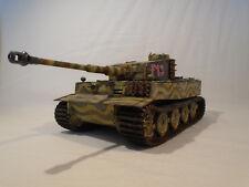 Pro Built German Tiger I heavy tank 1/35 assembled / gebaut model