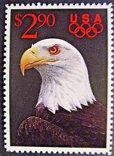 USA 1991$2.90 Bald Eagle Stamp (With Olympic Logo). MNH.