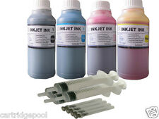 Refill ink kit for Epson 124 T124 NX125 NX127 NX420 NX430 WF 320 323 435 4x250ML