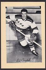 1945-1964 Beehive Group II 2 Hockey Bob Chrystal New York Rangers High Grade