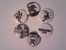 6 Operation Ivy Pin button Badges 25mm punk Op Iv Energy Rancid Tim Armstrong