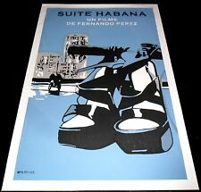 Habana Suite ORIGINAL Cuban Silkscreen POSTER Documentary  CUBA Fernando Pérez
