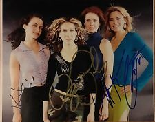 Parker Davis Nixon Cattrall Signed 10x8 Photo -Sex and the City