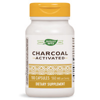 Nature's Way Charcoal Activated 560 mg 100 Caps