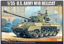 1/35 U.S. ARMY M18 HELLCAT #13255 ACADEMY HOBBY MODEL KITS