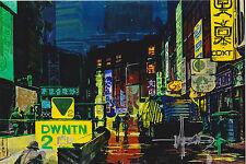 "Syd Mead Signed 4x6 Photo ""Tron"" ""Blade Runner"" Gundam Sentury ""Alien"" Art"