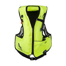 IST Junior Snorkel Vest for Youth with Oral Inflate Valve and Dry Pouch