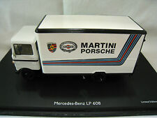 Schuco 03528  MB LP608 Martini Racing / Porsche Weiß Limited Edition 1:43 (5)