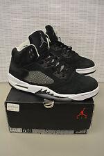 Nike Air Jordan Retro 5 V Oreo 136027 035 Size 12 Very Nice Free Shipping