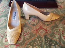 Melluso 36.5 6 tan Italian leather pumps heels shoes Italy