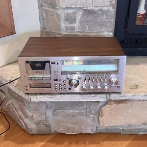 Vintage YORX Japan M2601 Stereo Receiver Cassette Deck 8-Track Player Boombox
