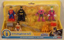 DC Super Friends Imaginext Heroes vs. Villains Cheetah Wonder Woman Batman Joker