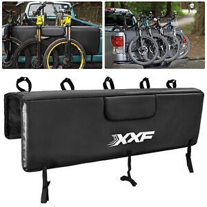 Bike Pick-up Pad Truck Bed Tailgate Crash w/5 Bicycle Frame Fixing Straps