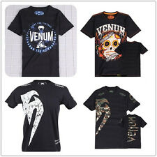 Venum Mens Original Giant T-SHIRT Iconic S/S Tee Tops Boxing Sportswear All Size
