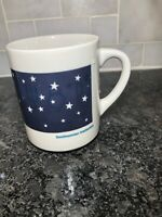 Vintage Rare SMITHSONIAN INSTITUTE Color Changing With Heat Planet Mug W Stars