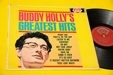 BUDDY HOLLY'S LP GREATEST ORIG UK 1960 MONO TOP RARE VERSION