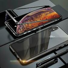 Coque Aimant Apple IPHONE X / XS Housse de Protection Verre Étui Portable Blindé