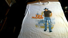 2004 2Xl Tim McGraw & Dance Hall Doctors Out Loud Summer Tour Fruit Loom T-shirt