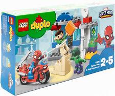 Lego Duplo 10876 - Marvel Super Hero Adventures - Abenteuer von Spider-Man&Hulk