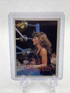 1990 Classic WWF Miss Elizabeth Card #67