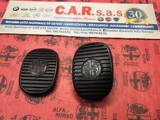 COPPIA COPRIPEDALI FRENO E FRIZIONE ALFA  147 e GT ORIGINALI 46755869 46755870