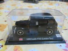 delPrado - Scale 1/43 - 1958 Austin Fx3 London Taxi - Mini Toy Car - A4