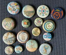 Qty WWI Button  Badges.