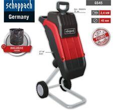 Scheppach Elektro-Gartenhäcksler GS45 230V inkl. Tasche