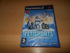 PLAYSTATION 2 PS2 YETI Sports ARCTIC Adventures PAL NUOVO SIGILLATO