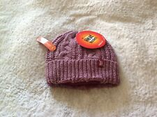 d894368367c LADIES GENUINE ROLL OVER BEANIE HEAT HOLDERS FLEECE LINED THERMAL HAT