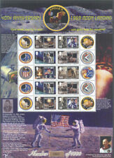 Isle of Man-1969 Moon Landing special limited issue sheet(863)-Space-Science