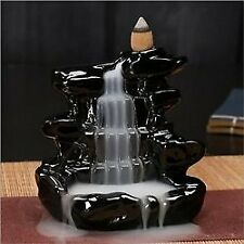 Fountain Design Smoke Showpiece with 10Free Smoke Backflow Scented cone Incenses