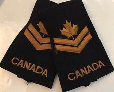 "CANADIAN MASTER CORPORAL EPAULETTES - 3 3/4"" Pair - 2pcs - #4928"