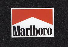 2 Marlboro Logo Vinyl Stickers
