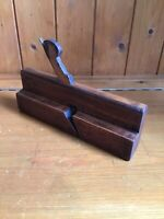 Antique Vintage Wooden Moulding Plane - Rebate Plane - Stamped J. Murch