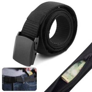 waist wallet Money Belt Travel Wallet Waist Pouch Hidden Pocket Purse Webbing