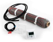 Elektrische Fussbodenheizung | Heizmatte | Inkl. digitalem Thermostat | 2 m²