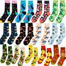 Men Women Socks Animal Seafood Theme Colorful Street Novelty Funny Sock 8-13