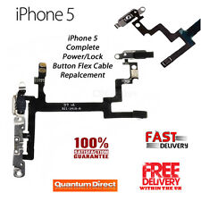 NEW Complete On/Off Power/Lock Volume Mute/Silent Button/Switch FOR iPhone 5