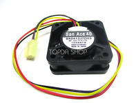 SANYO 9A0412J7D03 Double ball cooling fan DC12V 0.11A 40*40*15MM 3pin