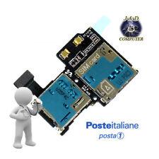 FLAT FLEX LETTORE SIM + MICRO SD CARD READER PER SAMSUNG GALAXY S4 i9505 I9500