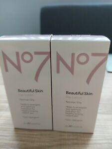 No7 Beautiful Skin Day Lotion Normal/Dry x 2